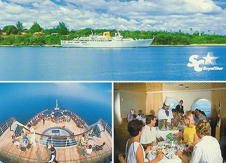 Paquet Cruise Ocean Cruise Lines Paquet