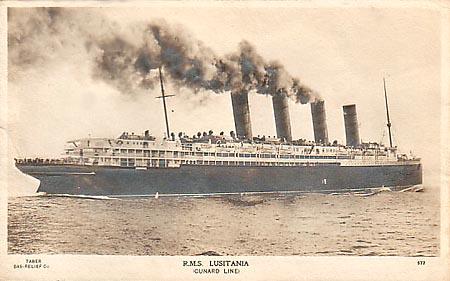 Los gemelos del Titanic. Lusitania01
