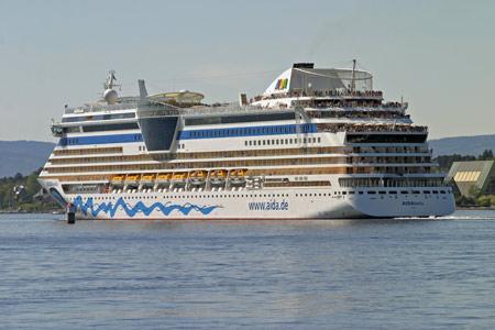 Aida Cruises Ship Postcards