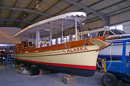 "Steam Launch ""Alaska"" 1883 - www.simplonpc.co.uk -  Photo: © Ian Boyle, 28th January 2008"