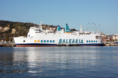 ISLA DE BOTAFOC -Balearia - Simplon Postcards - simplonpc.co.uk - Photo: ©1978 Ian Boyle