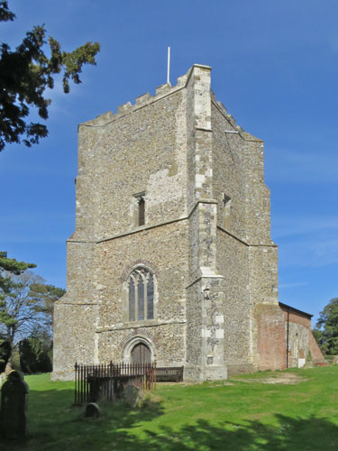 Bawdsey Church - Photo: � Ian Boyle, 23rd April 2013 - www.simplonpc.co.uk