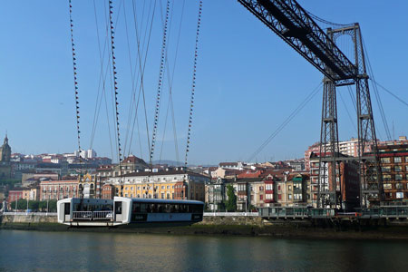 Vizcaya Bridge - Bizkaiko Zubia - Bilbao - www.simplonpc.co.uk - Photo: � Ian Boyle, 28th August 2008
