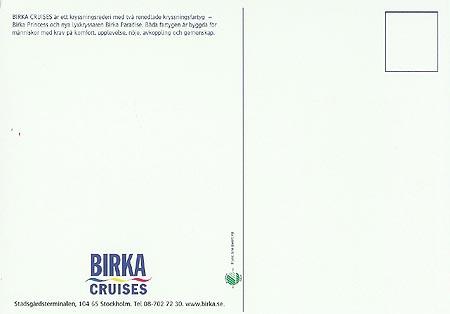 Birka Line Ship Postcards
