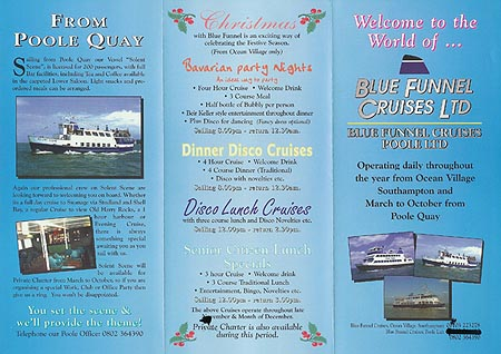 Blue Funnel Cruises Page New Vessels Simplon - Cruise ship brochure