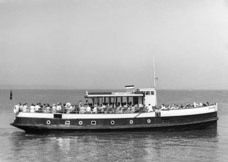 Sandringham - Blue Funnel Cruises - Photo: � 1959 Eric Payne - www.simplonpc.co.uk