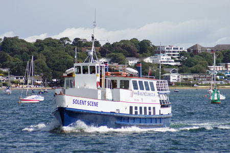 SOLENT SCENE - Blue Line Cruises - Photo: �Ian Boyle, 4th August 2010 - www.simplonpc.co.uk