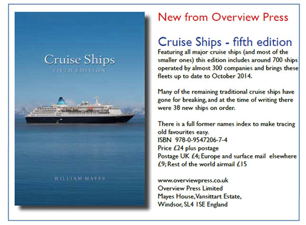CRUISE SHIPS 5th Edition