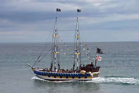 PIRATE SHIP - Photo: © Ian Boyle, 17th August 2010 - www.simplonpc.co.uk
