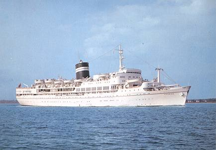 British Passenger Ships Of In Postcards Page - Educational cruise ships