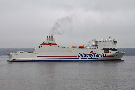 Cotentin at Brest - Photo: © Ian Boyle, 29th August 2008 - www.simplonpc.co.uk