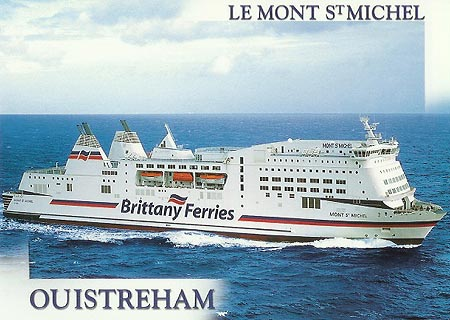 Brittany Ferries Postcards