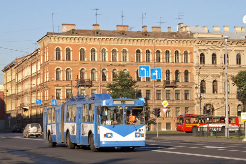 St Petersburg - Trolleybus - www.simplonpc.co.uk