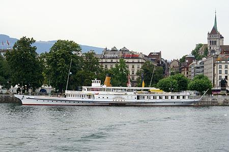Vevey page 5 compagnie g n rale de navigation sur le for Jardin anglais geneve suisse