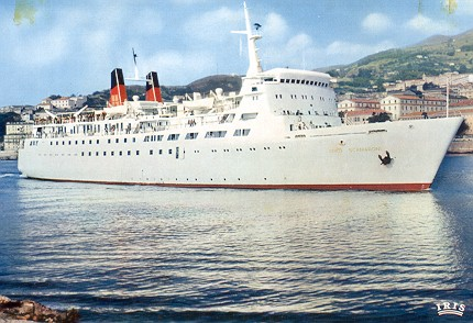 Bastia corsica ferry postcards photographs - Bateau bastia nice ...