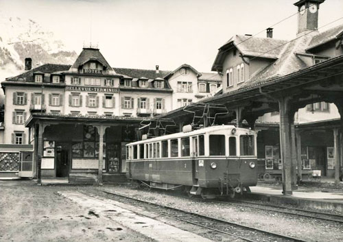 Luzern–Stans–Engelberg Bahn - www.simplonpc.co.uk - Simplon Postcards