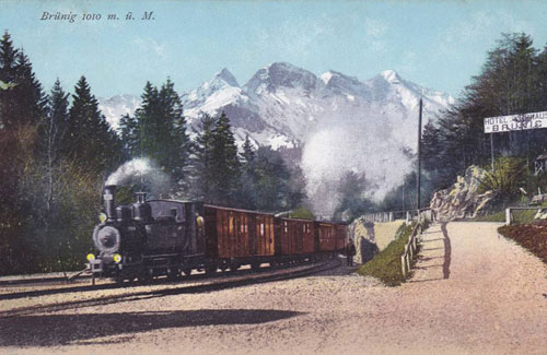 Brunig Bahn - www.simplonpc.co.uk - Simplon Postcards