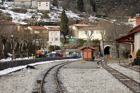 CP - Chemin de Fer de Provence - Photo: © Ian Boyle, 16th February 2010