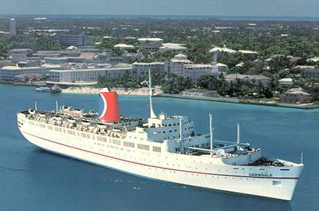 Carnival Cruise Line Postcards Page - Carnival cruise ship history