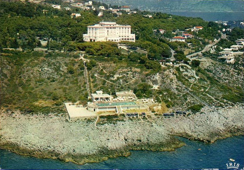 Grand Hotel du Cap-Ferrat Funiculaire - Simplon Postcards - www.simplonpc.co.uk