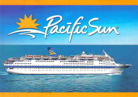 Carnival Cruise Line Postcards Page - Cruise ship pacific
