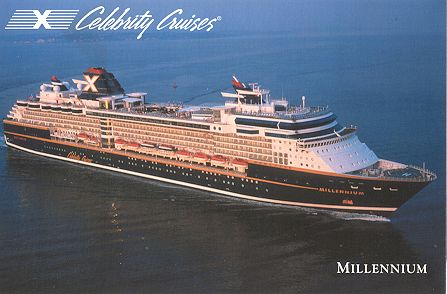 Celebrity Cruises Ship Postcards