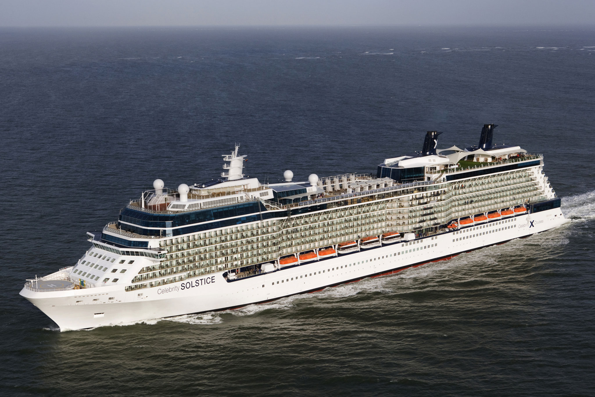 Celebrity cruises image of celebrity solstice in the ems