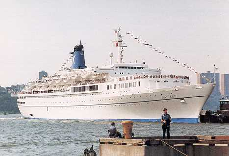Cruise History: The Chandris Line and the SS America was ...