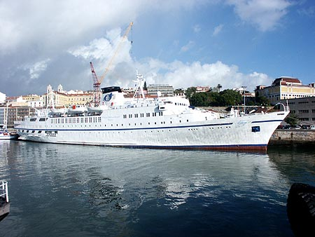 Classic International Arcalia Cruise Ship Postcards - Classic cruise ships for sale