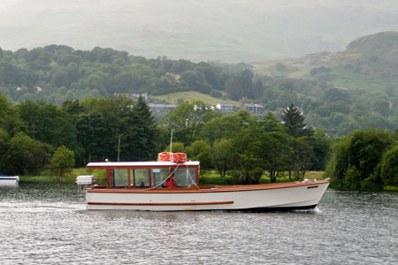 CAMPBELL of Coniston Launch - Photo: ©2012 Robert Beale - www.simplompc.co.uk - Simplon Postcards