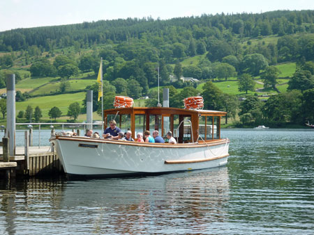 CAMPBELL of Coniston Launch - Photo: ©2012 Douglas Hodgson - www.simplompc.co.uk - Simplon Postcards