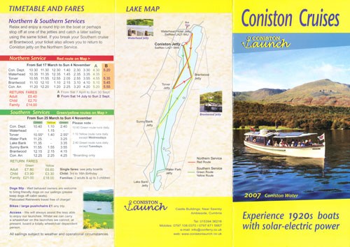 Coniston Launch - www.simplompc.co.uk - Simplon Postcards