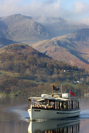 RANSOME of Coniston Launch - Photo: ©2012 Robert Beale - www.simplompc.co.uk - Simplon Postcards