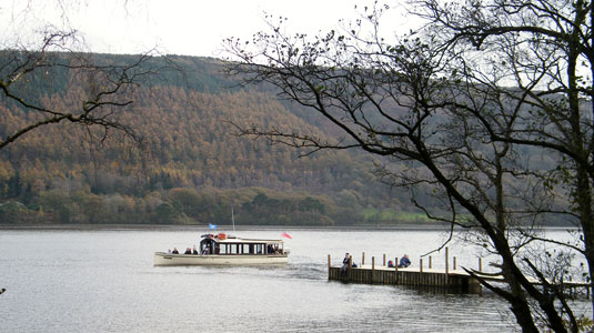 RUSKIN of Coniston Launch - Photo: ©2012 Robert Beale - www.simplompc.co.uk - Simplon Postcards