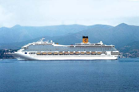 Costa Crociere Recent Cruise Ship Postcards
