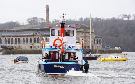 EDGECUMBE BELLE - Tamar Cruising - Photo: �2015 Ian Boyle - www.simplonpc.co.uk