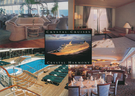 CRYSTAL HARMONY - Crystal Cruises - www.simplonpc.co.uk