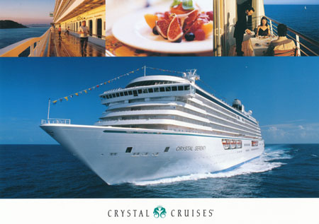 CRYSTAL SERENITY - Crystal Cruises - www.simplonpc.co.uk