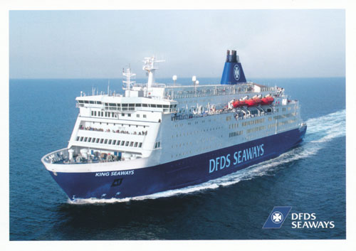 KING SEAWAYS - DFDS - www.simplonpc.co.uk