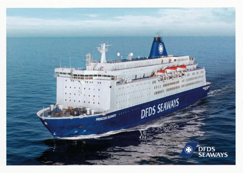 PRINCESS SEAWAYS - DFDS - www.simplonpc.co.uk