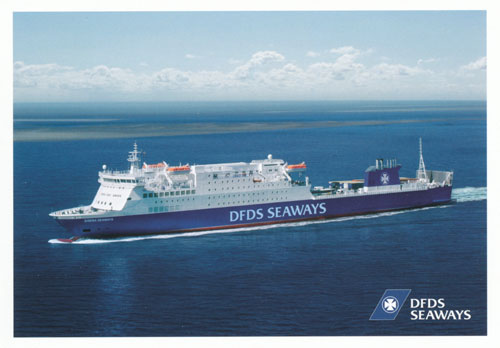 SIRENA SEAWAYS - DFDS - www.simplonpc.co.uk