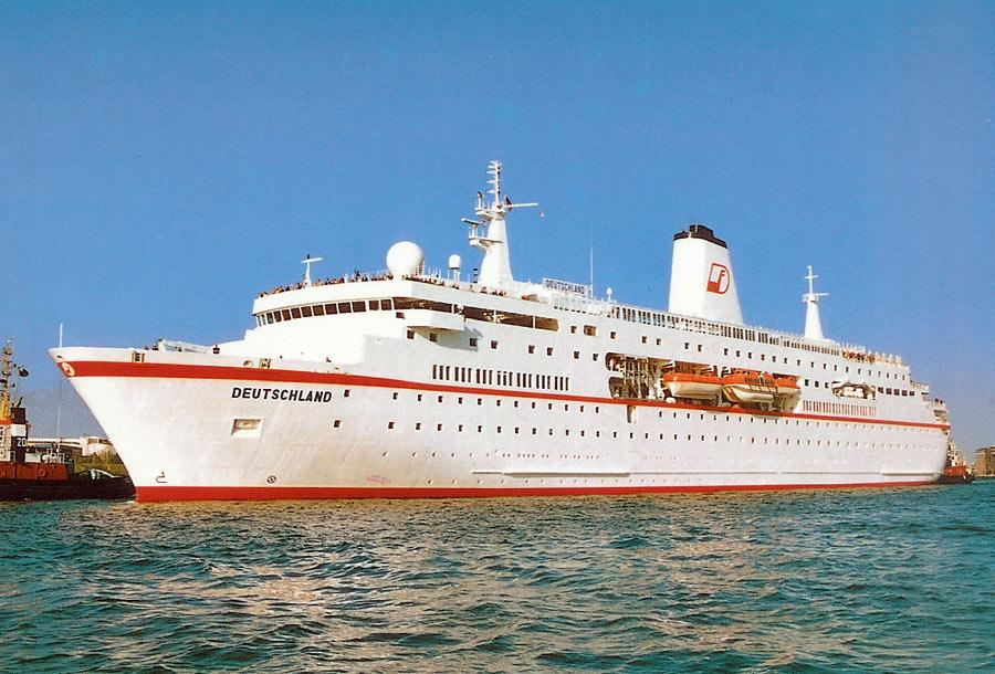 Peter Deilmann Cruise Ship Postcards