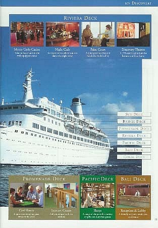 Voyages Of Discovery Cruise Ship Postcards