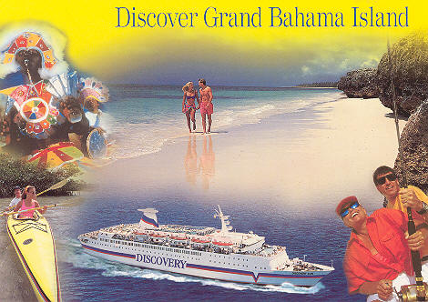 Discovery Cruise Ship Postcards - Discovery sun cruise ship