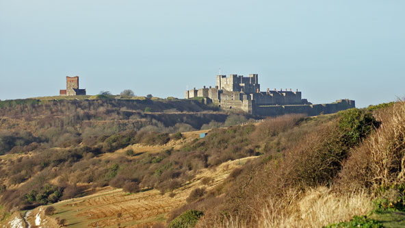 DOVER CASTLE - Photo: � Ian Boyle, 3rd February 2011 - www.simplonpc.co.uk