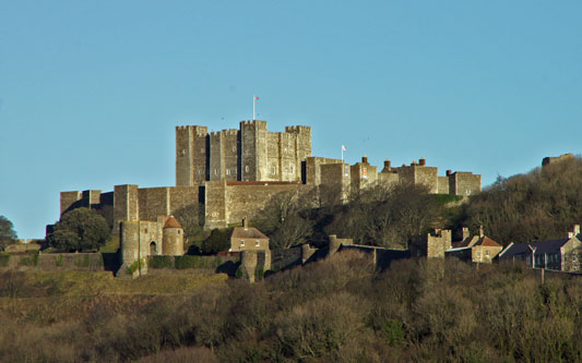 DOVER CASTLE - Photo: �2011 Ian Boyle - www.simplonpc.co.uk