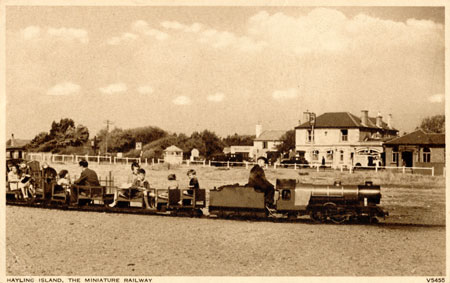 Hayling 1930s Miniature Railway - www.simplonpc.co.uk