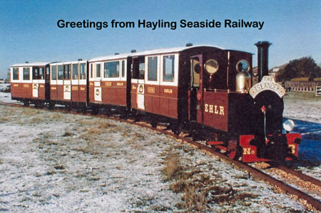 Hayling Seaside Railway - EHLR/HSR - www.simplonpc.co.uk