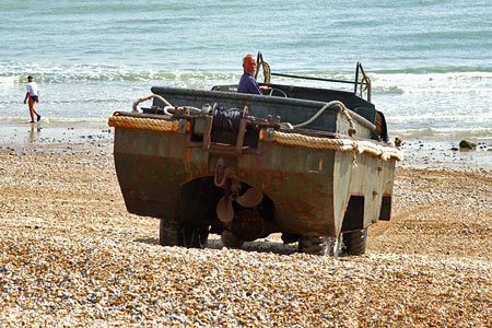 DUKW - WW2 Amphibious Vehicle - Allchorn Pleasure Boats - Eastbourne - Photo: ©2007 Copyright Ian Boyle/Simplon Postcards - www.simplonpc.co.uk