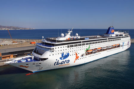 GRAND MISTRAL - Ibero Cruceros - Photo: � Ian Boyle, 17th October 2010 - www.simplonpc.co.uk